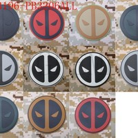 DEadpool Tactical Airsoft Morale 3D PVC patch