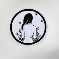"""Girl In Field"" Patch"