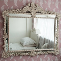 Baroque Carved Angels Mirror|Mirrors|Mirrors  Screens|French Bedroom Company