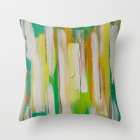 Encounters Throw Pillow by Sophia Buddenhagen