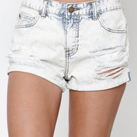 Billabong Highside Two Ripped High Rise Cuffed Denim Shorts at PacSun.com