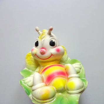 Vintage Edward Mobley Bumble Bee Squeak Toy 1959