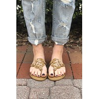 Dancing In The Streets Sandals- Mocha