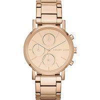 NY8862 Lexington rose gold-toned chronograph watch