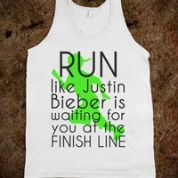 RUN like Justin - Get in my Closet