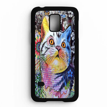Chloe cat art Samsung Galaxy S5 Mini Case