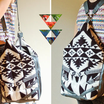 Pendleton Reclaimed Leather 5-Ways-Bag by myHOMEBYTHESEA