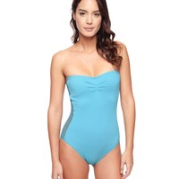 Crochet Side Maillot by Juicy Couture,