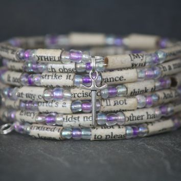 Shakespeare Bracelet in Lavender