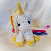 Mystical Cuties; Mini Unicorn with Egg
