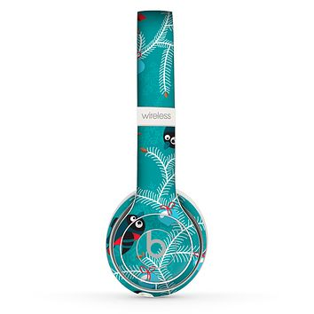 The Blue with Flying Tweety Birds Skin Set for the Beats by Dre Solo 2 Wireless Headphones
