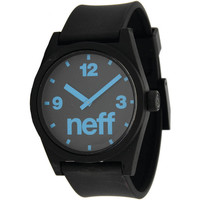 Neff - Daily Watch - Black/Cyan
