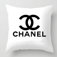 Chanel, COCO chanel, pillow case, pillow cover, for home decorate, chanel  decorate, sofa decorate, for her gift ,family decorate