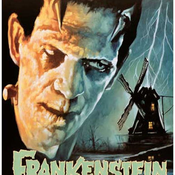 Frankenstein Boris Karloff Movie Poster 11x17