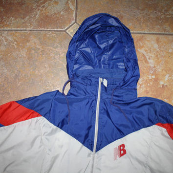 90s New Balance Windbreaker Jacket