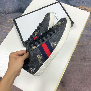 Gucci Ace Gg Supreme Tigers Sneaker - Best Online Sale