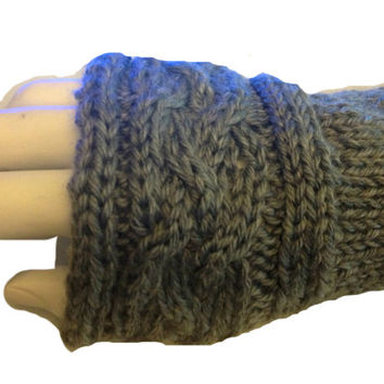 PDF Pattern Claire's Arm Warmers **Knitting Pattern**  Fingerless Gloves # 1 Outlander Inspired Sassenach Knitting Pattern PDF File
