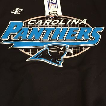 CAROLINA PANTHERS NFL  BLACK SWEATSHIRT SIZE XXL SHIPPING!