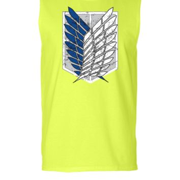 Attack On Titan - Sleeveless T-shirt