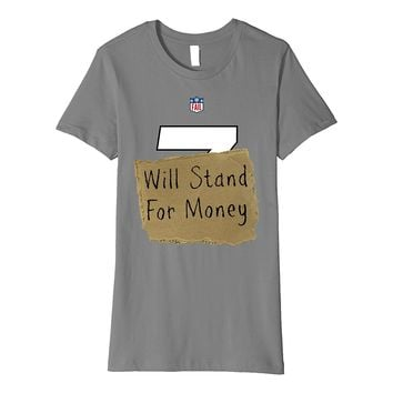 Conservative Football Halloween Liberal Costume Shirt FITTED
