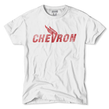 Chevron Gasoline Logo T-Shirt