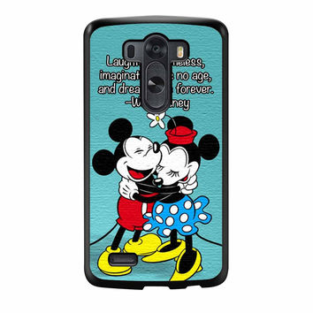 Mickey And Minnie Mouse Falling Love LG G3 Case