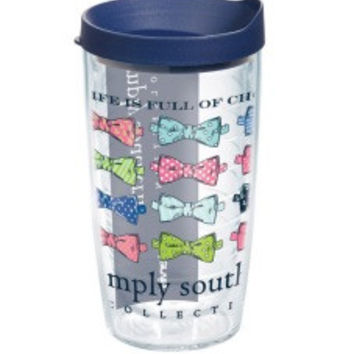 Simply Southern Life Is Full Of Choices - 16 oz Tervis Tumbler with lid