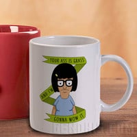 Tina Belcher Design Mug And Cup / Custom Mug / Custom Cup