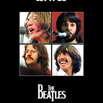 Let it Be 11x17 Movie Poster (1970)
