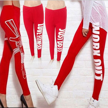 Women Cotton Stretchy Leggings Tights Work Out Prints Pants Yoga Sports Outwear_TQ = 1932701252