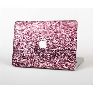 "The Subtle Pink Glimmer Skin Set for the Apple MacBook Pro 13"" with Retina Display"