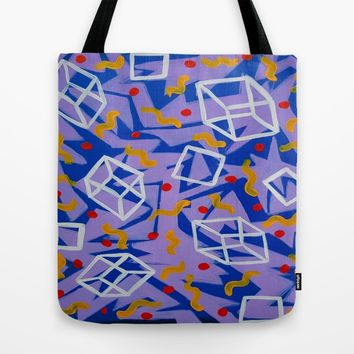 90's Feels Tote Bag by Ducky B