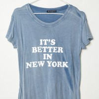 Margie Better In NY Top - Brandy Melville