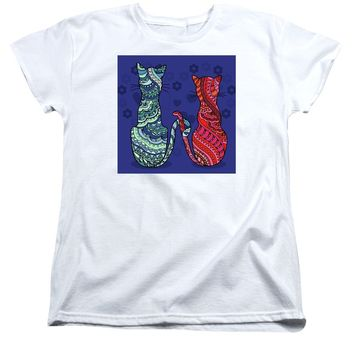 Cat Lovers - Women's T-Shirt (Standard Fit)