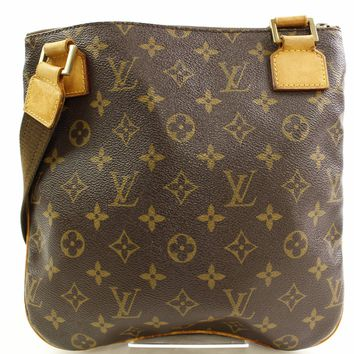 Authentic Louis Vuitton Shoulder Bag Pochette Bosphore M40044 Monogram 250148