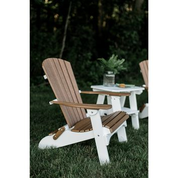 Wildridge Heritage Outdoor Folding Adirondack Chair  - Ships in 10-14 Business Days