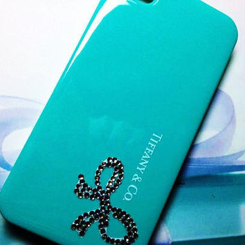 Bling tiffany iphone 4 case iphone 4s case iphone 4 cover iphone 4s cover iphone 4 protection iphone 4s protection