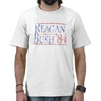 Reagan Bush '84 Vintage Campaign Shirt from Zazzle.com