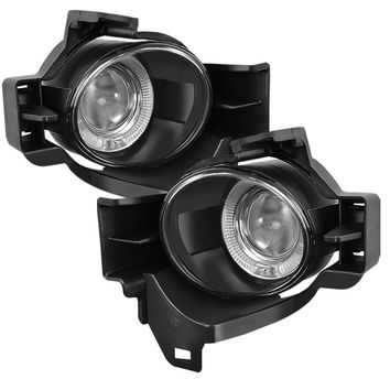 Nissan Altima 10-12 4Dr Halo Projector Fog Lights - Clear