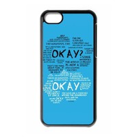 Custom The Fault in Our Stars Cover Case for iPhone 5C W5C-632