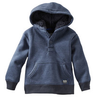 Sherpa-Hood Pullover