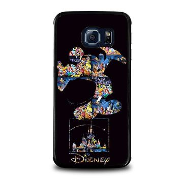 mickey mouse disney samsung galaxy s6 edge case cover  number 2