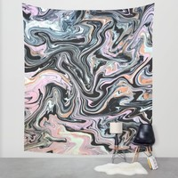 Have a little Swirl Wall Tapestry by Ducky B