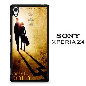 woman in gold poster Z0375 Sony Xperia Z4 Case