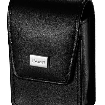 Caseti Soft Black Leather Lighter Case