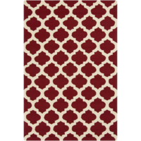 Storm Burgundy & Butter Rug design by Surya