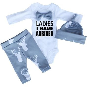 "Baby 3pc ""Ladies I have arrived"" Set"