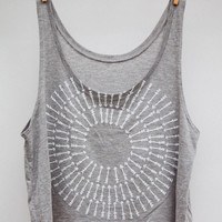 Camp Brand — BULLS EYE CROP TANK