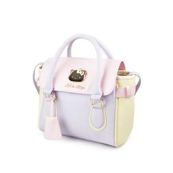 Hello Kitty 2-Way Shoulder Bag: Pastel Fun