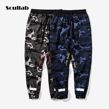 soullab camo camouflage men bottom army style jogger pants sweat swat sweatpants hip hop tyga brand fashion designer clothes new